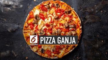 Ada beragam varian pizza di seluruh dunia. Namun salah satu restoran di Afrika Selatan punya pizza ganja.