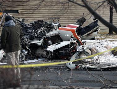 Pesawat Pribadi Jatuh di Utah, Pilot 64 Tahun Tewas