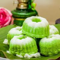 Tips membuat kue putu ayu./Copyright shutterstock.com