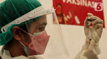 PMI Gelar Vaksinasi untuk Pelajar dan Masyarakat Umum