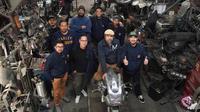 Tim Suryanation Motorland Ride to USA mengunjungi Chabbott Engneering. (SML)