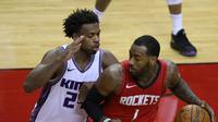 Pemain Houston Rockets, John Wall tampil gemilang saat tim mengalahkan Sacramento Kings, Minggu (03/01/2021) pagi WIB. (Carmen Mandato / GETTY IMAGES NORTH AMERICA / Getty Images via AFP)