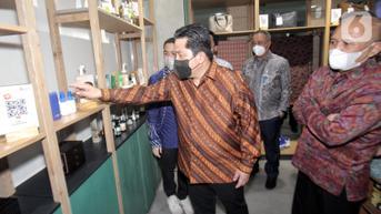 Di Bali, Erick Thohir Janjikan Ekosistem BUMN Bantu Bangkitkan UMKM