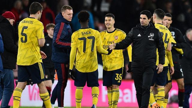 Manajer Arsenal, Mikel Arteta.