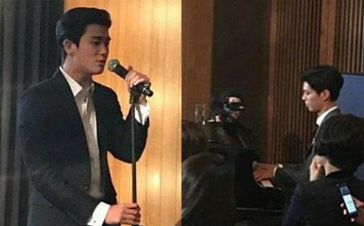 Park Bo Gum dan Park Hyung Sik mengisi acara di pernikahan Song Joong Ki dan Song Hye Kyo (KoreaBoo)
