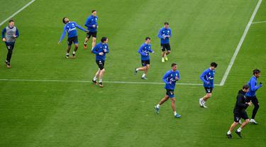 Intip Latihan Pemain Schalke 04 di Tengah Pandemi