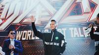 Aksi Demian Aditya dan Edison Wardhana di World's Got Talent 2019 di Tiongkok (Istimewa)