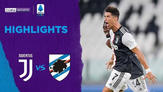Berita Video Highlights Serie A, Cristiano Ronaldo Sumbang Gol di Laga Juventus Vs Sampdoria