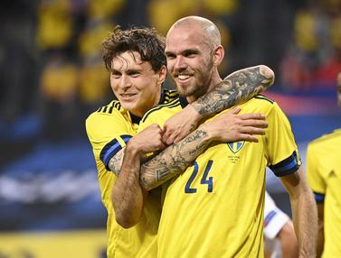 Foto Piala Eropa: Swedia Tundukkan Armenia 3-1 dalam Laga Uji Coba Terakhir Menjelang Euro 2020
