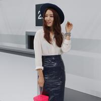 Park Shin Hye sempat membintangi drama yang bertajuk 'The Heirs' bersama lawan mainnya yaitu Lee Min Ho. (AFP/Bintang.com)
