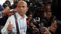 Pengacara penyidik Komisi Pemberantasan Korupsi (KPK) Novel Baswwdan, Saor Siagian (Liputan6.com/Helmi Afandi)