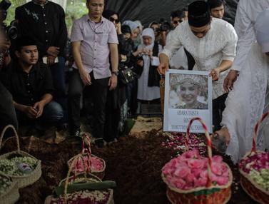 Pemakaman Menantu Hatta Rajasa, Adara Taista