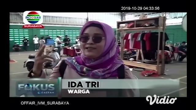 Memperingati Hari Sumpah Pemuda, ratusan anak punk di Sidoarjo, Jawa Timur, mengucapkan teks sumpah pemuda hingga menyanyikan lagu Indonesia Raya.