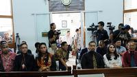 Sidang Hak Asuh Anak Tessa Kaunang dan Sandy Tumiwa (Deki Prayoga/bintang.com)