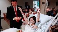 Wanita ini meninggal dunia setelah menggelar pernikahannya. (Sumber Foto: virall4real)