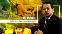 M. Qodari, Direktur Eksekutif Indo Barometer. (Liputan6.com/Abdillah)