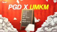 Lawan pandemi, Game Online PGD dukung UMKM untuk sinergi. (istiimewa)
