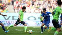 Ilustrasi pertandingan K League 1, Jeonbuk Hyundai Motors vs Suwon Samsung Bluewings. (Bola.com/Dok. K League)