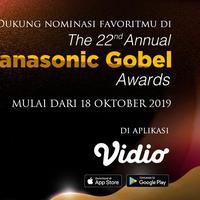 Tunjukkan Dukungan Terhadap Nominasi Pilihanmu di The 22nd Annual Panasonic Gobel Awards di Aplikasi Vidio. Sumberfoto: Vidio