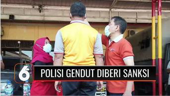 VIDEO: Polres Grobogan Beri Sanksi 70 Anggota Polisi yang Kelebihan Berat Badan