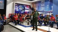 Kepala Penerangan (Kapuspen) TNI, Mayjen Sisriadi mengatakan banyak akun media sosial yang mencatut nama dan logo TNI. (Liputan6.com/Delvira Hutabarat)