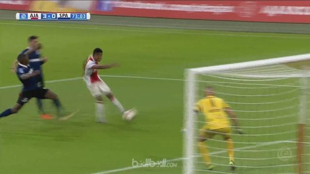 Berita video highlights Eredivisie 2017-2018 antara Ajax melawan Sparta Rotterdam dengan skor 4-0. This video presented by BallBall.