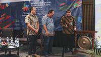 Peresmian TRACK SDGs oleh Yanuar Nugroho, Deputi II Kantor Staf Presiden Bidang Kajian dan Pengelolaan Isu-Isu Sosial, Ekologi dan Budaya Strategis (Dok. INFID)