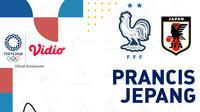 Olimpiade 2020 - Prancis Vs Jepang (Bola.com/Adreanus Titus)
