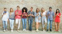 Ilustrasi kelompok remaja (iStockphoto)