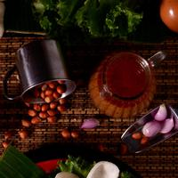 ilustrasi resep masakan bumbu kacang/pexels