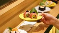 Berikut pengalaman makan sushi di Sushigroove yang bisa bikin Anda liburan ke Jepang. (Foto: Dok. Sushigrooove)