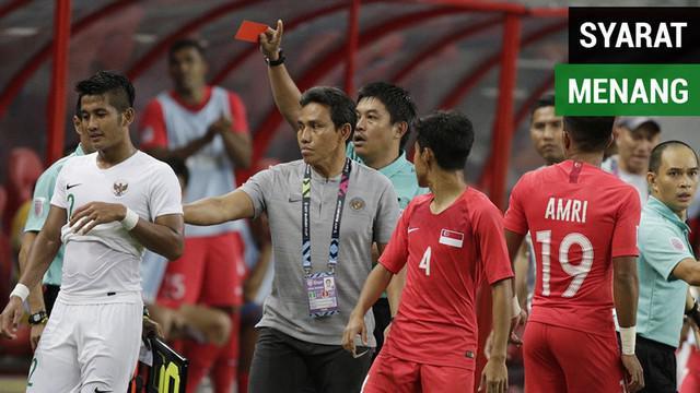Berita video syarat untuk Timnas Indonesia bisa menang laga kedua Piala AFF 2018 melawan Timor Leste bila mengacu pada statistik pertandingan kontra Singapura.