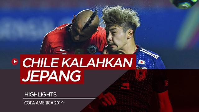 Berita Video Highlights Copa America 2019, Chile Taklukkan Jepang 4-0