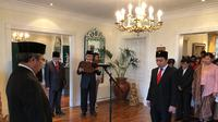 KBRI Oslo yang mengadakan upacara peringatan untuk HUT RI ke-74 tahun.