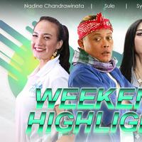 HL Weekend Highlight Nadine Chandrawinata, Sule, Syahrini