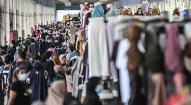 Penjualan Pakaian Lebaran Mulai Meningkat