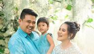 Kahiyang Ayu dan keluarga. (Foto: Diera Bachir dari Instagram @dierabachir)