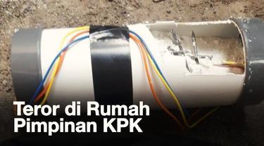 Dua pimpinan KPK yaitu Agus Rahardjo dan Laode M Syarif mendapatkan teror bom pada Rabu, 9 Januari 2019.