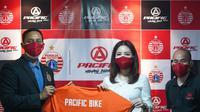Persija kerja sama dengan Pacific Bike. (Media Persija).
