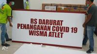 RS Darurat COVID-19 Wisma Atlet Kemayoran mulai dioperasikan Senin (23/3/2020), yang mana akan terbagi menjadi tiga zona. (Dok Kementerian Badan Usaha Milik Negara/BUMN)