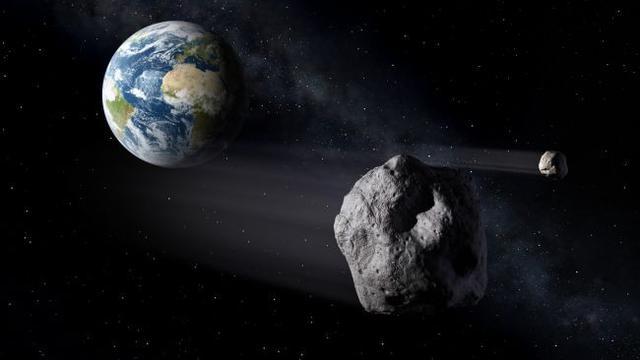 Asteroid Dekati Bumi