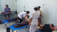 Ruangan transit pasien di RSUD TC Hillers Maumere. (Liputan6.com/Dionisius Wilibardus)