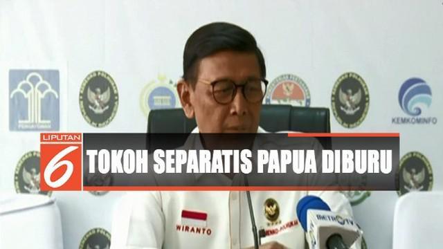 Pemerintah juga terus memantau tokoh separatis Papua Benny Wenda yang diduga atau disebut sebagai pemicu kerusuhan di Papua.