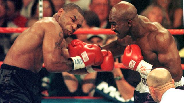 Holmes Dukung Duel Jilid III Mike Tyson Vs Evander Holyfield ...