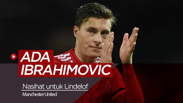 Berita video Zlatan Ibrahimovic memberikan wejangan untuk bek muda Manchester United, Victor Lindelof.