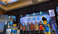 Jumpa pers Indonesia Open 2019 di Ritz Carlton Hotel, Pacific Place SCBD, Jakarta, Rabu (26/6/2019).