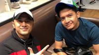 Hengky Kurniawan dan Dimas Seto (dok. Instagram @dimasseto_1/https://www.instagram.com/p/BtizwFJB2YB/Putu Elmira)