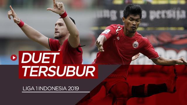 Berita video 5 duet tersubur di Liga 1 2019.