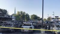 Ratusan mobil jadi korban demo rusuh di AS (Carscoops)