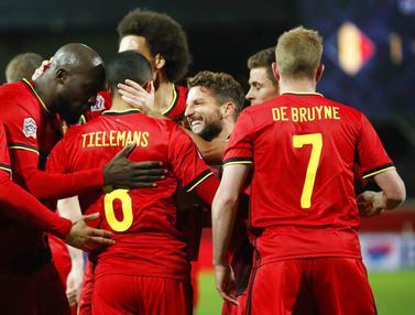 Belgia Bungkam Inggris di UEFA Nations League